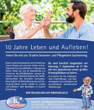 10 Jahre Senioren- und Pflegeheim Sachsenring